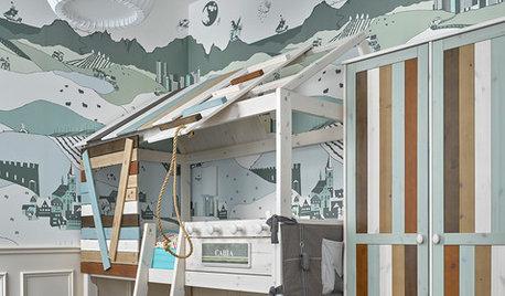 Фотоохота: Кровать-домик в детской — 19 идей
