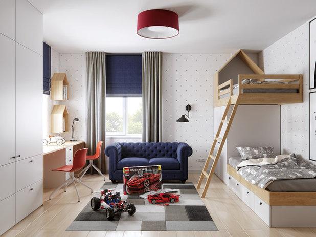 Contemporáneo Dormitorio infantil by Bellas Artes