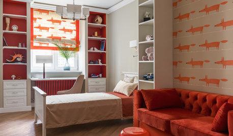 Houzz тур: Квартира с обоями в честь любимого корги