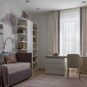 Нордическая квартира в центре Москвы
