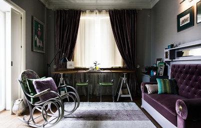 В гостях: Семейная квартира с единорогом на Покровке