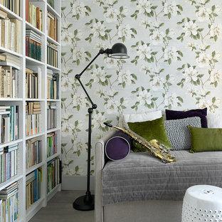 Неиссякаемый источник вдохновения для домашнего уюта: детская в стиле современная классика с зелеными стенами