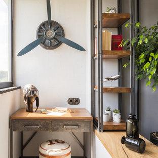 Chambres d\'enfant et de bébé industrielles avec un bureau : Photos ...
