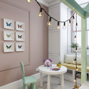 Сhildren's room with a mint accent