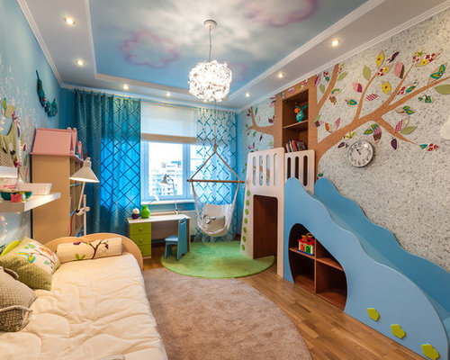 Contemporary kids 39 room design ideas renovations photos for Michaels furniture huntington park