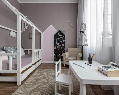 modelo de habitacin de nia de a aos escandinava pequea con