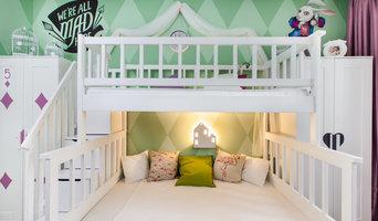 """Сказочная детская комната в стиле """"Алиса в стране чудес"""""""