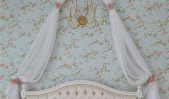 Текстильное оформление комнаты девочки