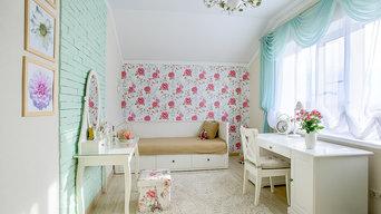 Загородный дом в Астрахани. Дизайнер Айгуль Сапарова.