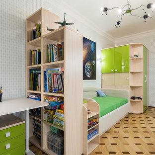 Зелёная детская комната