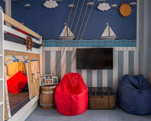 maritime kinderzimmer f r kleinkinder design ideen. Black Bedroom Furniture Sets. Home Design Ideas