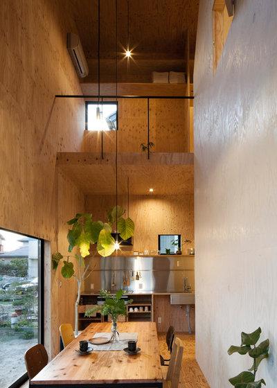コンテンポラリー ダイニング by mA-style architects