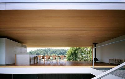 自然と響き合い、そよ風が通り抜ける、7つのテラスのある家