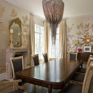 Elegant Dining Room   Country Dining Room Idea In Houston