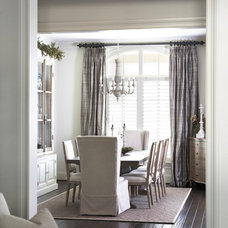 Traditional Dining Room by Milestone Custom Homes