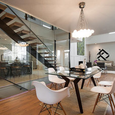 Contemporary Dining Room by Breen Homes