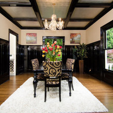 Traditional Dining Room by Pangaea Interior Design, Portland, OR