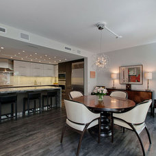 Contemporary Dining Room by Wendell Gooch