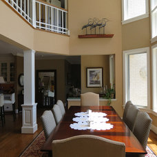 Traditional Dining Room by Scott L. Rand AIA