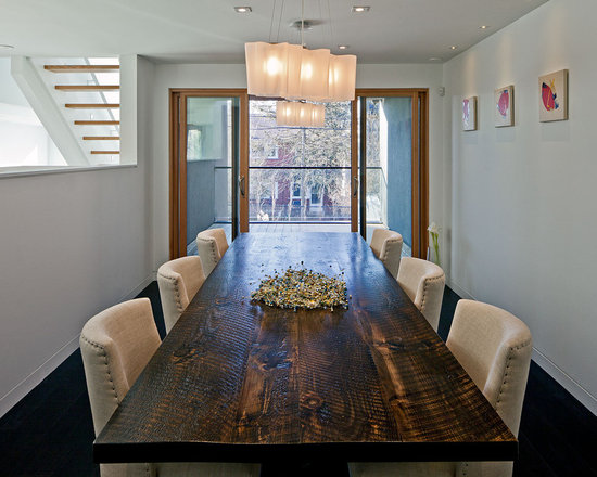 reclaimed wood table | houzz