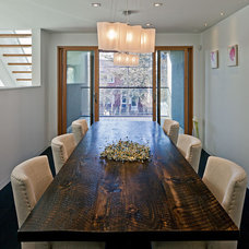 Contemporary Dining Room by Peter A. Sellar - Architectural Photographer