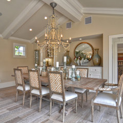traditional dining room by Spinnaker Development