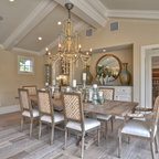 The Gambrel Roof Home Traditional Dining Room