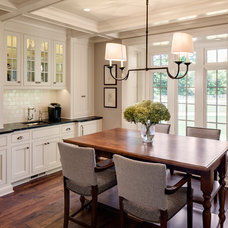 Farmhouse Dining Room by Bartelt. The Remodeling Resource