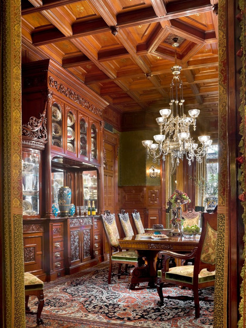 South Barrington Dining Room Project: 1880s Brownstone