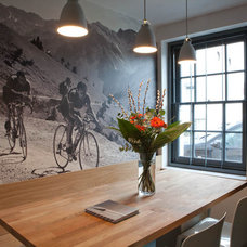Contemporary Dining Room by Moon Design + Build
