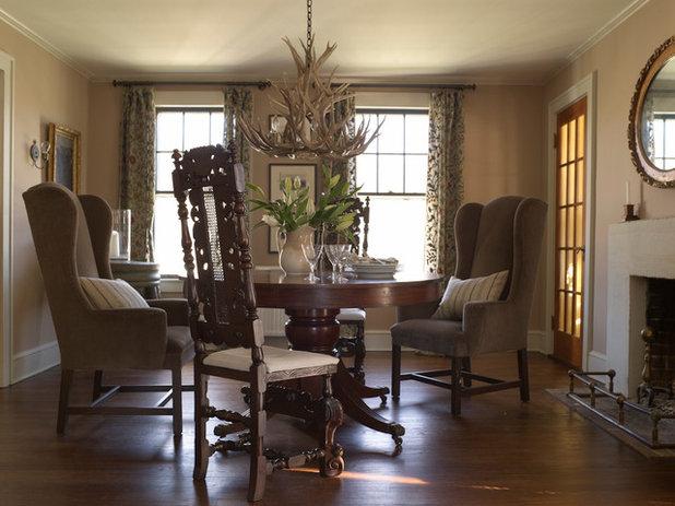Farmhouse Dining Room by Hendricks Churchill