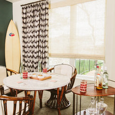 midcentury dining room by Baxter Design Group