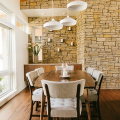 modern dining room by Baxter Design Group