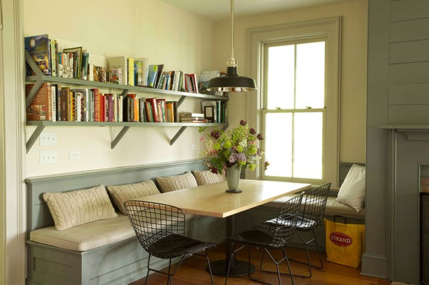 Farmhouse Dining Room by KATE JOHNS AIA