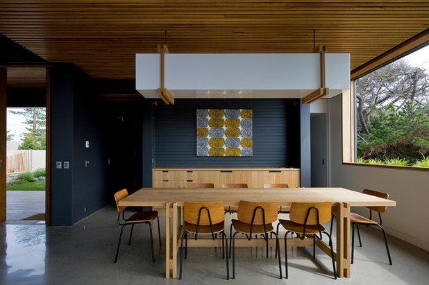 Contemporary Dining Room By Matt Elkan Architect