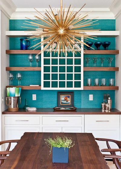 Transitional Dining Room by Emeritus