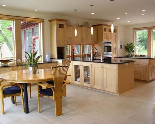 Natural Maple Cabinets | Houzz on Natural Maple Cabinets  id=71551