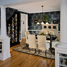 Traditional Dining Room by Plum and Crimson Fine Interior Design