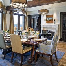 Modern Dining Room by Bravo Interior Design
