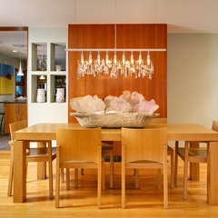 contemporary dining room by Urban Home Magazine