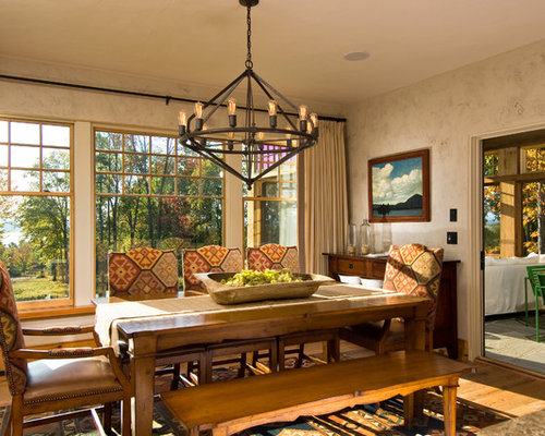 Spanish Style Dining Room Houzz