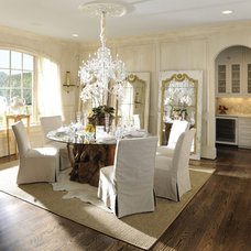 Traditional Dining Room by Castle Homes