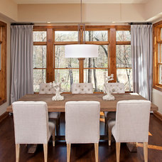 Traditional Dining Room by BohLand Homes