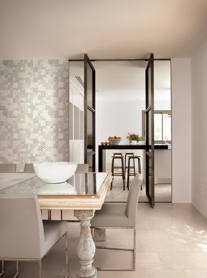 Dining Room 2012 Tile Trends Photography - Living Spaces with Coverings Preview
