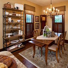 Traditional Dining Room by Donnah Miles Interiors