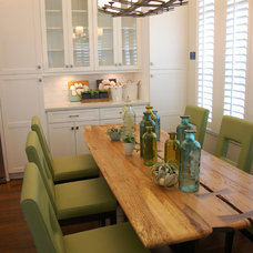 Farmhouse Dining Room by Keesee and Associates, Inc.