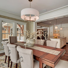 Traditional Dining Room by Spacecrafting / Architectural Photography