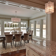 Traditional Dining Room by TC Homebuilders Inc