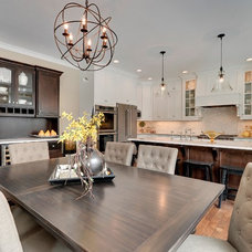 Traditional Dining Room by Highmark Builders