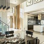 2014 New American Home Contemporary Bedroom Las